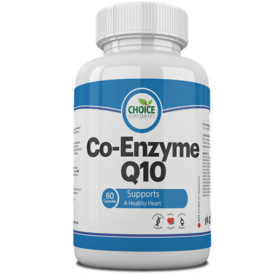 Co Enzyme Q10 CoQ10 100mg Capsules UK Made High Quality Pills Tablet 60B