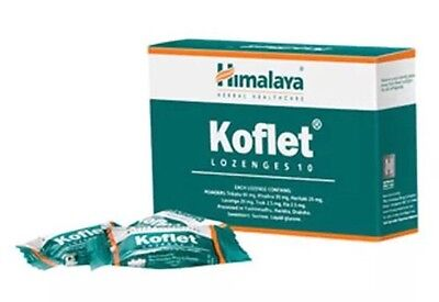 Himalaya Herbal Healthcare Koflet, Lozens for Dry & Irritating Sore Throat 10