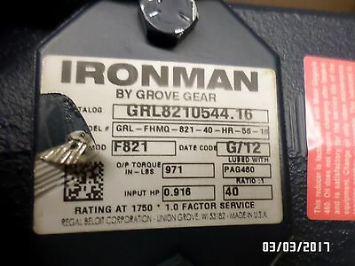 Inventory Clearance!! Grove Gear Iron Man 40:1  Right Hand  56 C Face
