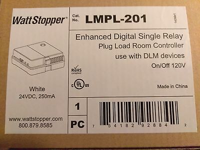 WATT STOPPER LMPL-201 Enhanced Digital Single Relay(Lot of 2)