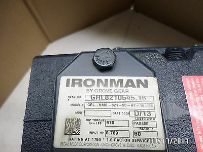 Inventory Clearance!! Grove Gear Iron Man 50:1/56 C Face