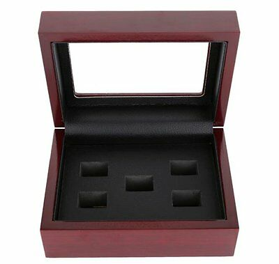 Wooden Display Case,Box for Stanley Cup Championship ring Nice Gift