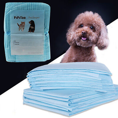 100Pcs - Dog Puppy 33x45cm Pet Housebreaking Pad, Pee Training Pads, Underpads