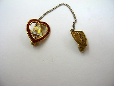 Vintage Collectible Pin: Women of the Moose Heart Design