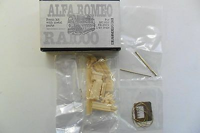Tauro Model 1:48 Resina Metallo Alfa Romeo Ra1000 Per Mc 202 Re 2001  Art 48902