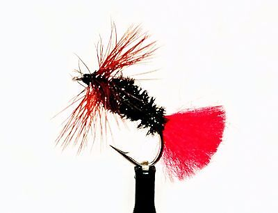 Fly Fishing Trout Fly RED TAG Size 10 Pack of Eight UK Packed #77