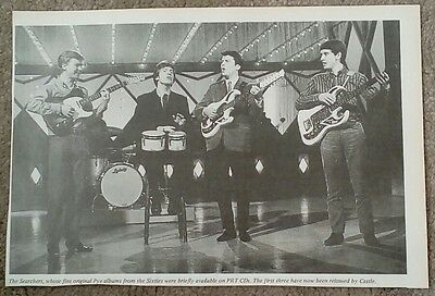 """THE SEARCHERS - ORIGINAL + RARE PICTURE Approx. 8"""" by 6"""""""
