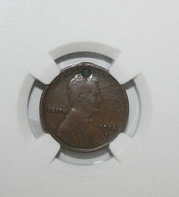 1914 D Lincoln Cent Ngc Vf Details Holed