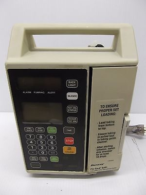 Baxter FloGard 6201 Volumetric Infusion Pump - Pole or Table Top Installation IV