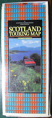 1981  TOURIST MAP OF SCOTLAND - 5 Miles to 1 Inch - Scottish Tourist Board