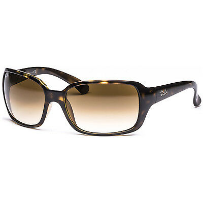 New Ray Ban RB4068 71051 Light Brown Gradient Sunglasses