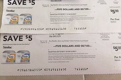 $10 Similac Coupons (2-$5 off)