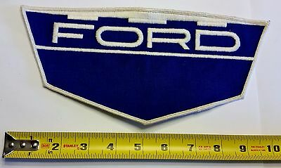 VINTAGE Embroidered Automotive Gasoline Patch (Original-UNUSED) FORDLARGE SHIELD