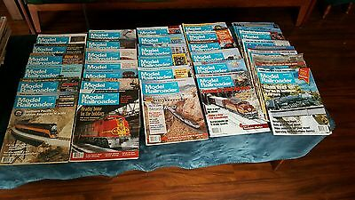 Model Railroader Magazine Lot of 36, Years 1994-1996