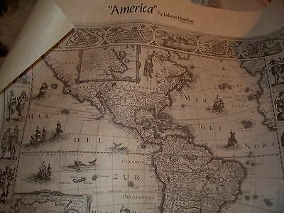 "Old World Map, Copy, Courtesy Library Of Congress ""america"" 1630"