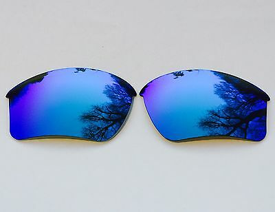 Polarized Ice Blue Mirrored Replacement Oakley Half Jacket 2.0 Xl Lenses