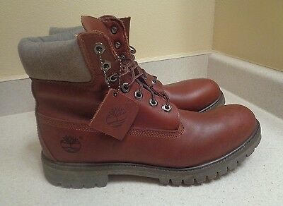 Timberland Men's Brown Leather Boots US 10/44 EUR