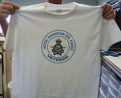Royal Canadian Air Force Veteran T-shirt