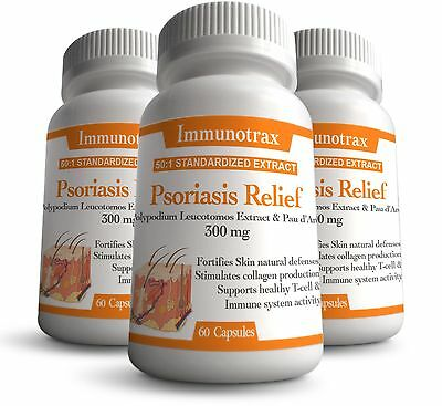 Psoriasis & Eczema Natural Treatment | Immunotrax Organic Therapy |  3 Pack