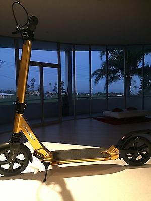 Scooter AUSRIDE GOLD Scooter  Suspension Adult Commuter or Kids Hand Brake