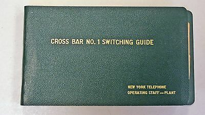New York Telephone Company Crossbar No. 1 Switching Guide, 1971
