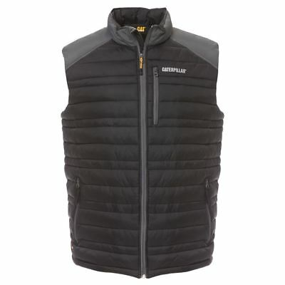 New Caterpillar Men's Water Resistant Work Fishing Camping Insulated Vest Cheap
