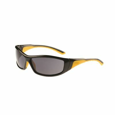 New Caterpillar CAT Men's Grit Safety Sunny Glasses Smoke Cheap