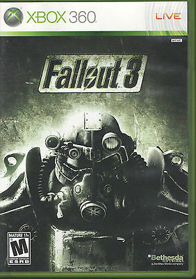 Fallout 3 xbox 360 very good Complete