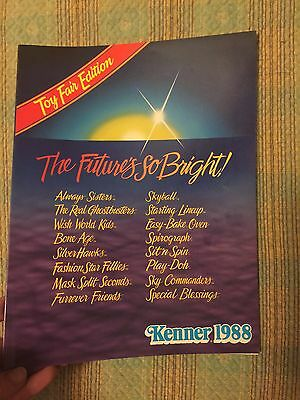Kenner Toy Fair Catalog 1988 - Ghostbusters Sky Commanders Starting Lineup
