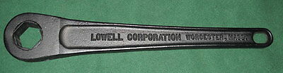 "Lowell No. 16 Hex Drive 1-1/2"" Ratchet Wrench NEW SHIPS FREE"