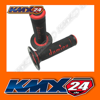 Domino Xtreme Griffe sw/rot geeignet für Yamaha YZF 250 400 426 450 Motocross