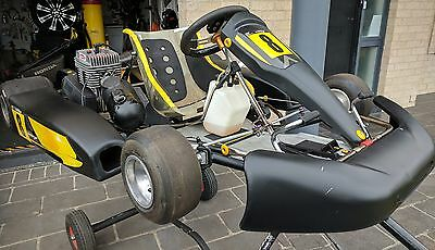 One Go kart Tony Kart Club man engine