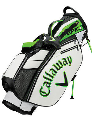 Callaway Epic Stand Bag Black/White