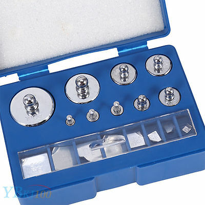 211.1g 10mg-100g Grams Precision Calibration Scale Weight Set Balance Test   OB