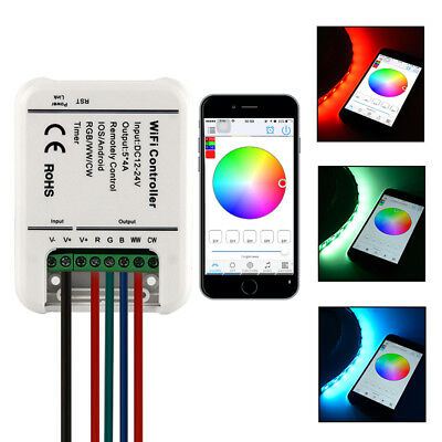 Sunix Wireless RGB Wifi LED Strip Controller Android Smartphone 12-24V 20A SU705