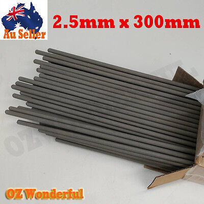 4KG Package 2.5mm x 300mm ELECTRODES STICK WELDING RODS STEEL ELECTRODE