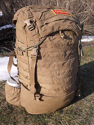 USMC FILBE Military Main Field Pack Bag Large Rucksack Propper Marine Coyote