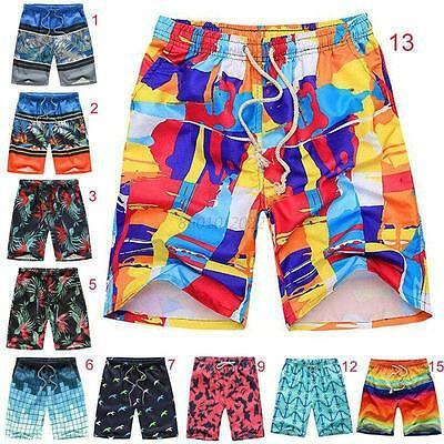 Men's Boardshorts Shorts Sport Beach Trunks Shorts Swimwear Swimming Pants L-4XL