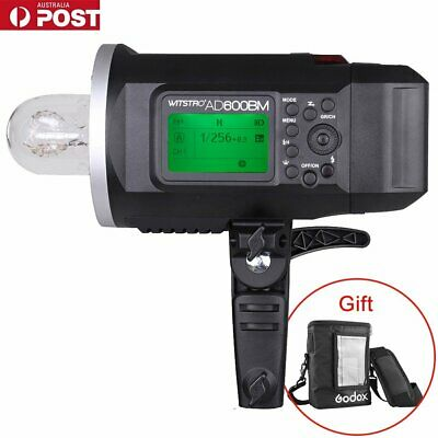 AU Godox AD600BM 2.4G HSS Outdoor Flash Strobe Bowens Mount + PB-600 Bag (gift)