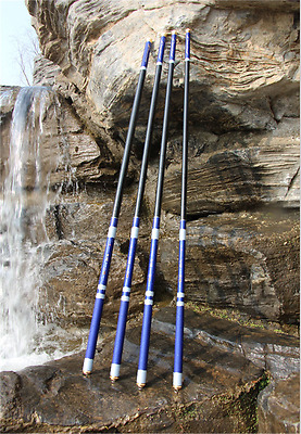 Carbon Fiber Fishing Rods Telescopic Spinning Freshwater Fishing Pole 3.6-7.2m