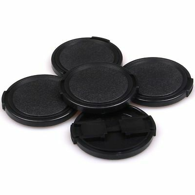 5× 40.5 43 49 52 58 62 67 72 77 82mm Side-Pinch Front Lens Cap for Lens Filters