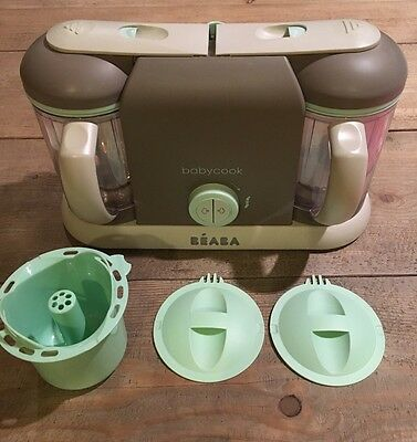Beaba Babycook Plus in Latte/Mint