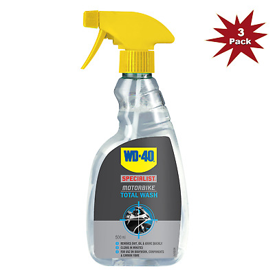 WD-40 Specialist Total Wash 500ml - 3Pk