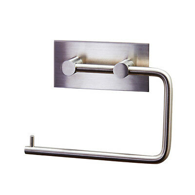 KES A7070 Tissue/Toilet Paper Holder 3M Self Adhesive,Brushed Stainless Steel