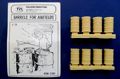 Verlinden 1:72 Kit Barili Per Campo D'aviazione Barrels For Airfields  Art 83