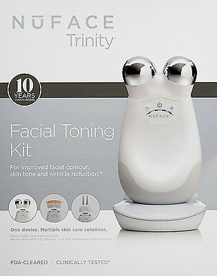 Nuface Trinity Facial Toning Device White UK Seller Fast Dispatch