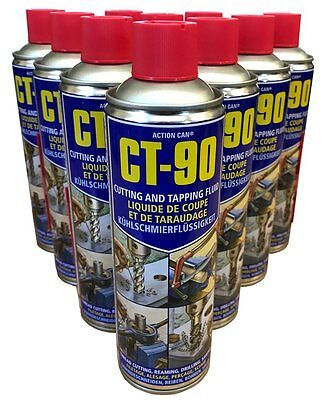 (PACK OF 15) Action Can CT-90 Cutting & Tapping Fluid  Spray 500ml Aerosol