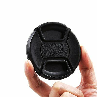 5pcs 77mm Front Lens Cap Snap-on with cord for Nikon Canon Sony Panasonic Fuji