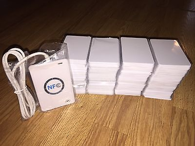 NFC ACR122U RFID Contactless smart Reader & Writer With 100 IC Cards