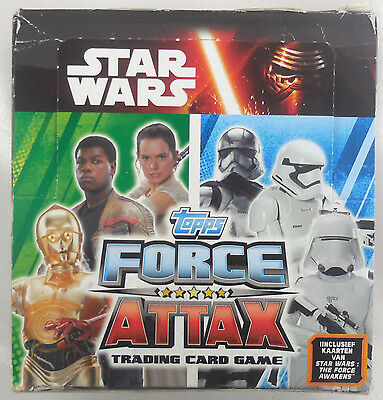 Topps Star Wars Display 50 Stück Force Attax Trading Card, Karten NEU